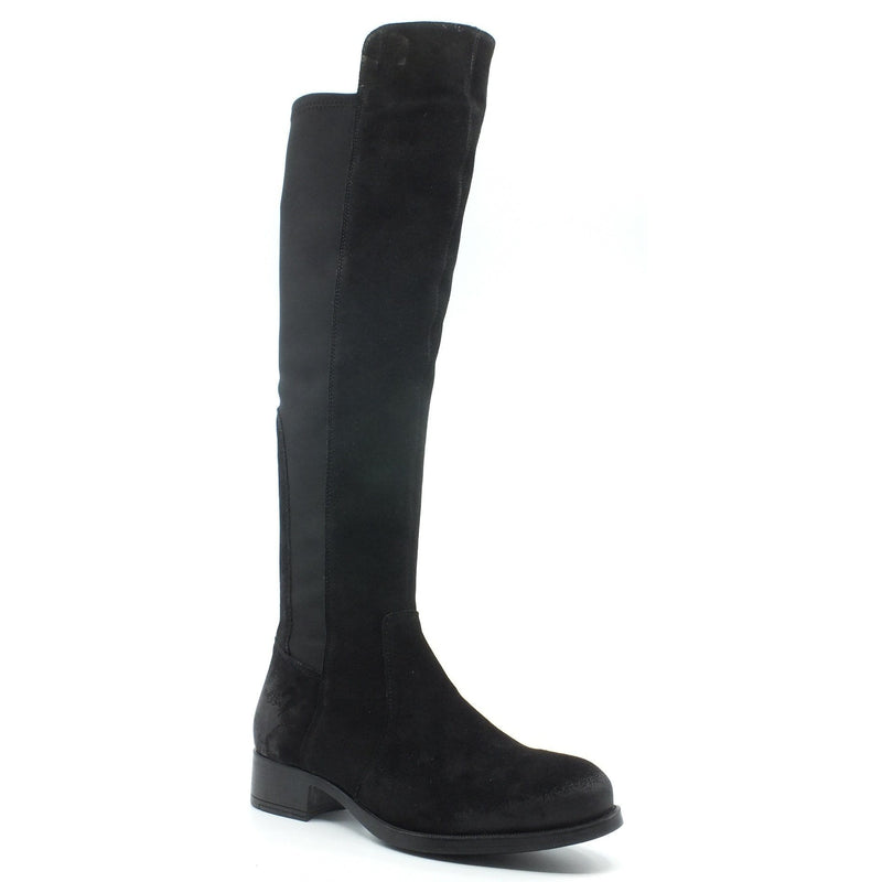 Bos & Co Bunt Women's Over the Knee Waterproof Leather Tall Boot Shoe
