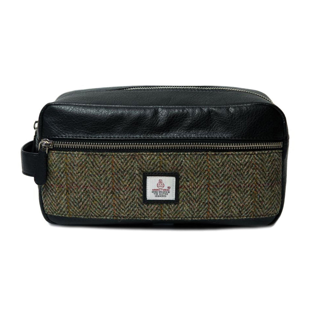 Harris Tweed Toiletry Bag
