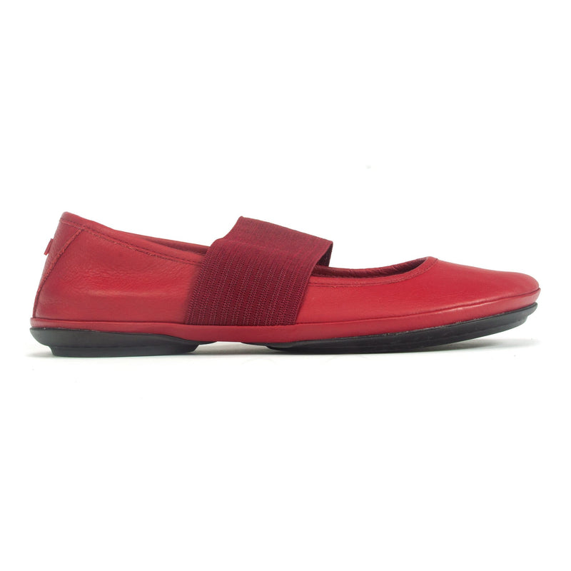 Camper Right (21595) Leather Ballerina Mary Jane Flat 175 Mars | Simons Shoes