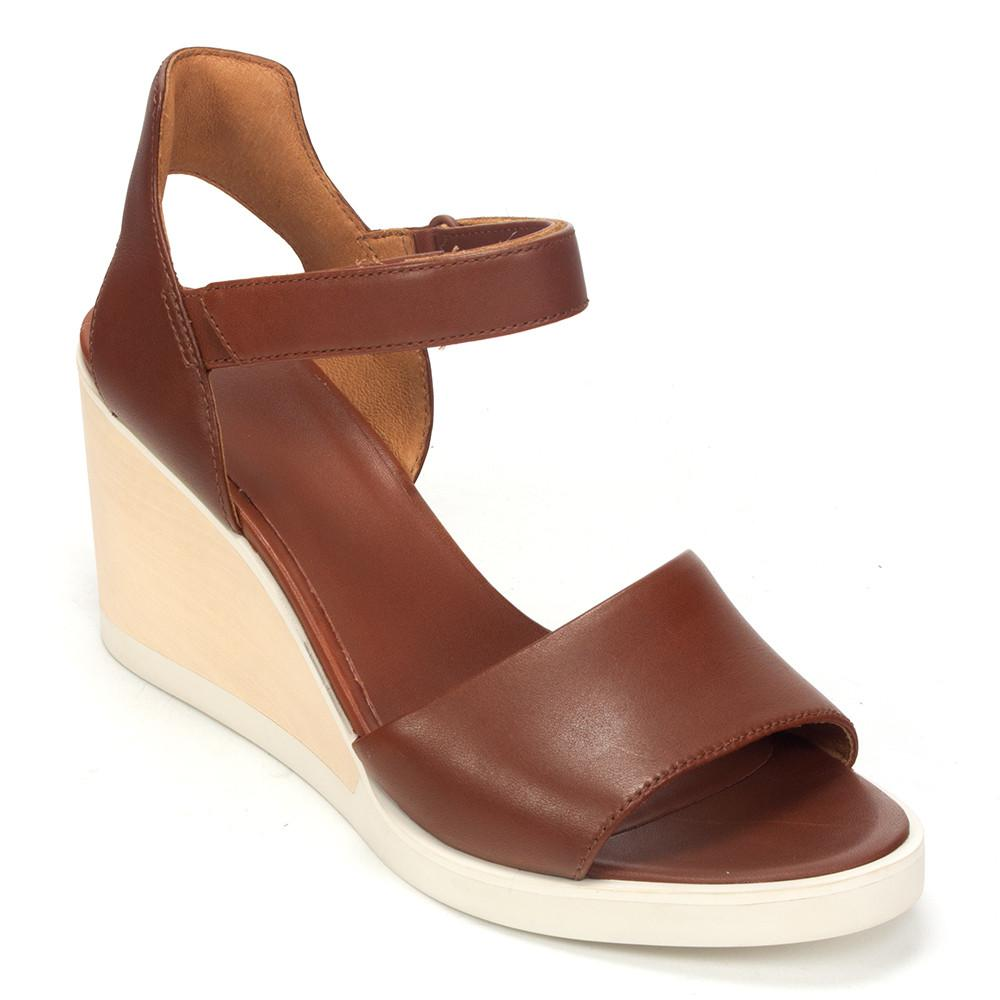 9addee8275f4 Camper Limi (K200111) Women s Leather Strap Wedge Sandal Shoe – Simons Shoes