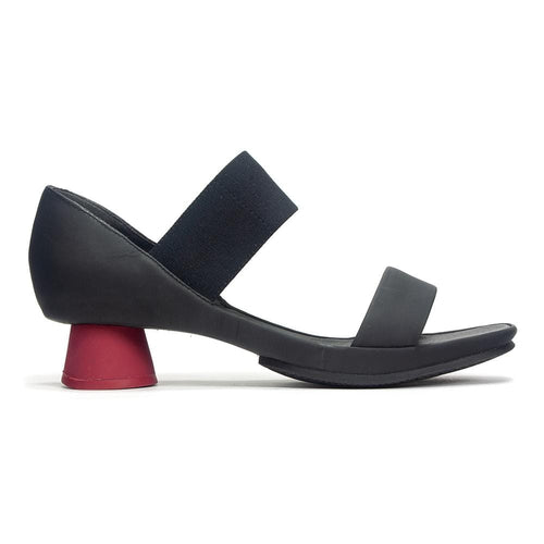 Camper Alright Sandal K200770 | Rubber Leather Open Toe Heel | Simons