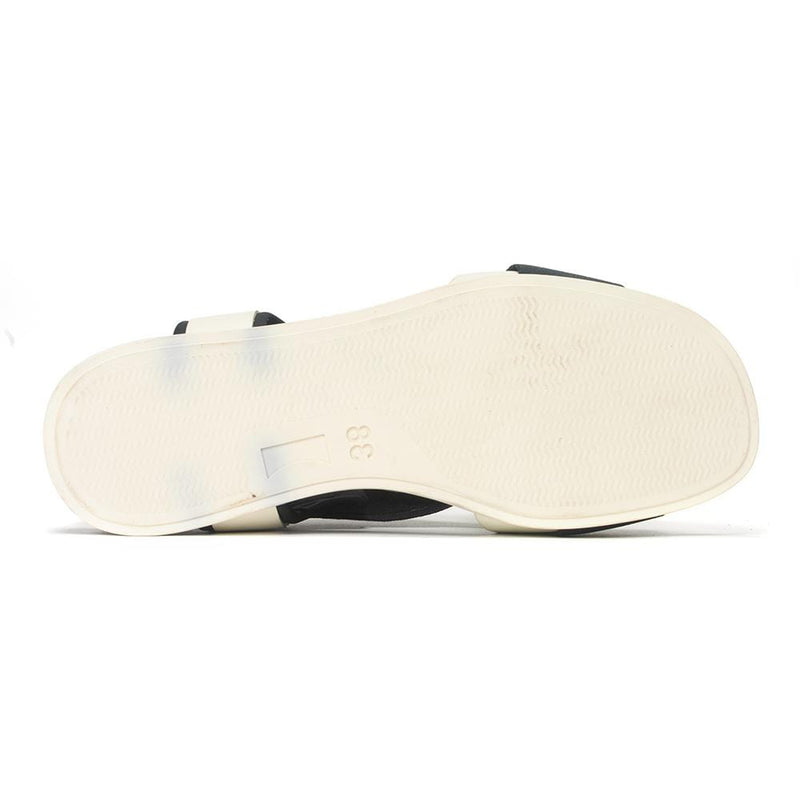Camper Atonik K200802 Elastic and Leather Strap Slip On Sandal