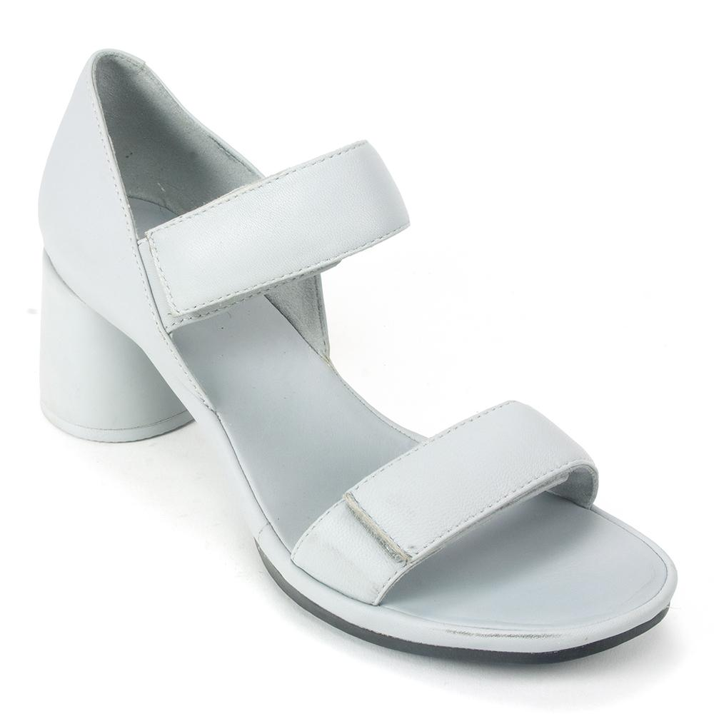 Camper Upright (K200953) Womens Leather Heel Sandal | Simons Shoes