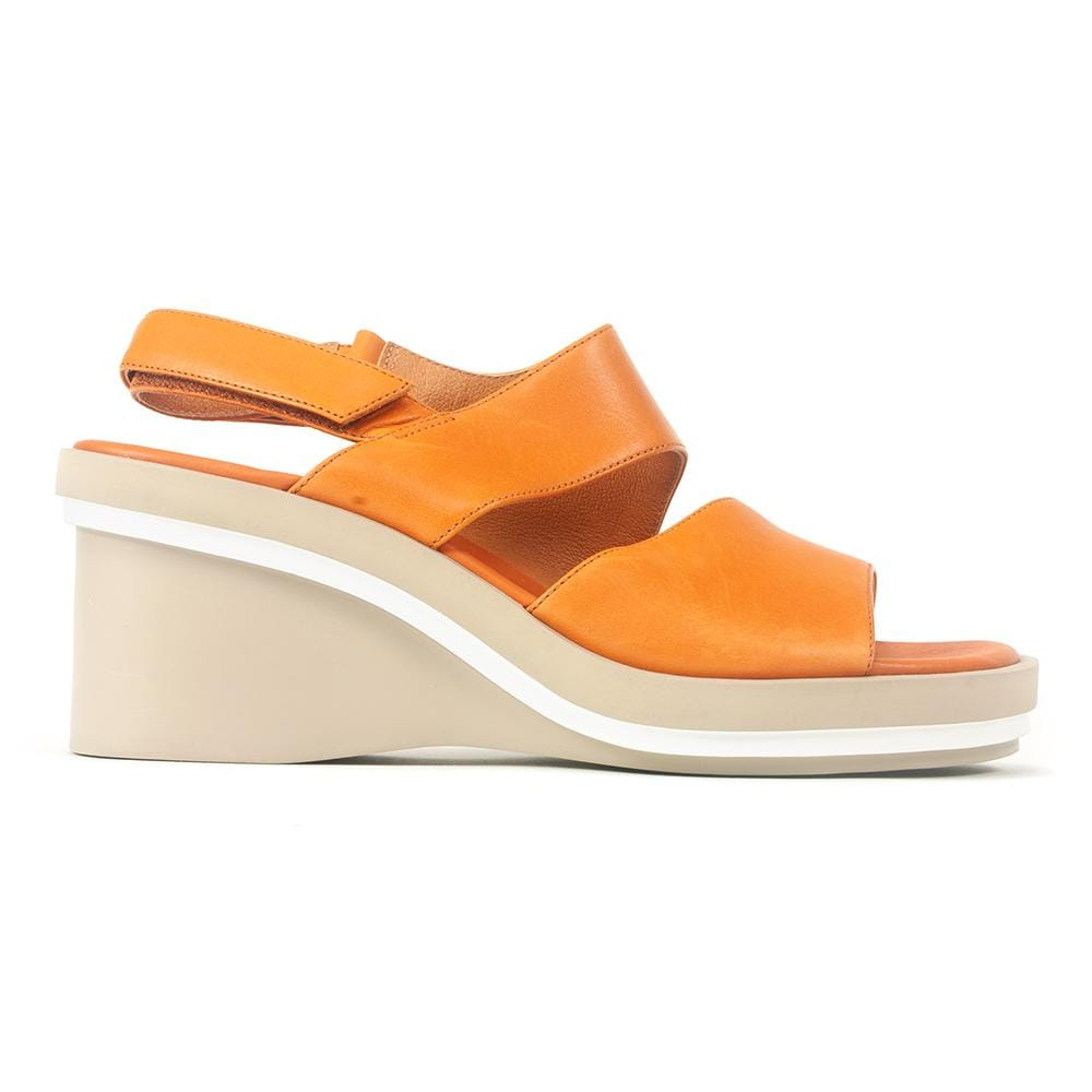 Camper Kyra K200965 Womens Slingback Leather Wedge Sandal| Simons Shoes