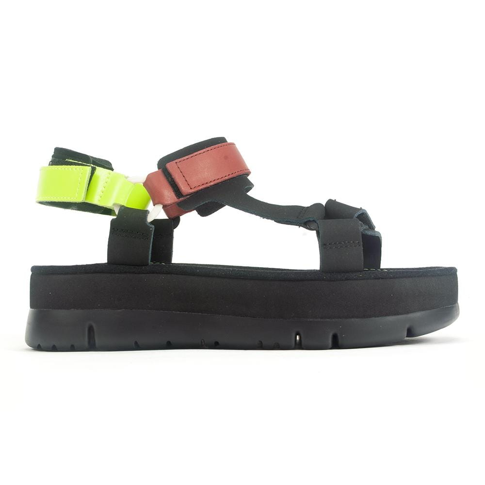Camper Oruga (K201037) Womens Leather Platform Sandal | Simons Shoes