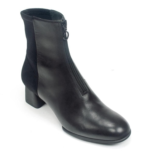 01381b6d2cd7 Camper Katie K400312 Women s Leather Fashion Demi Boot Heel Shoe
