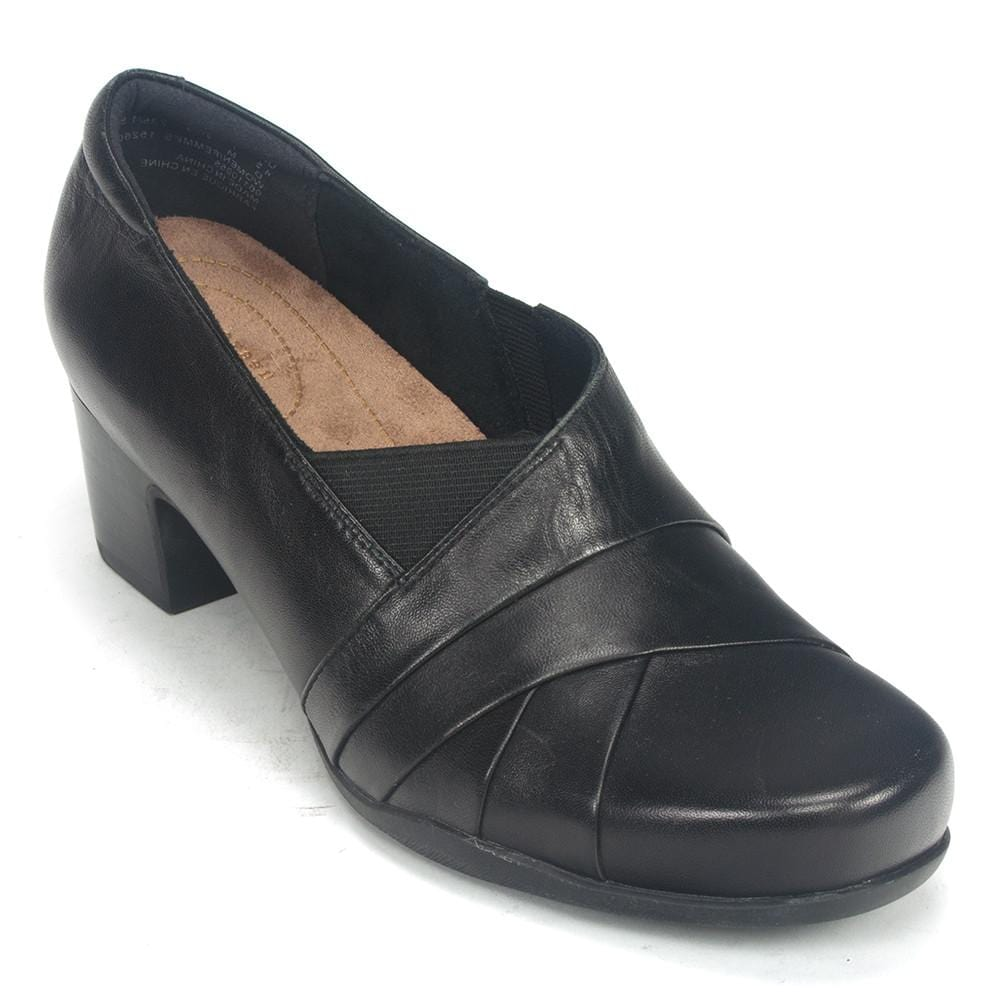 Clarks Rosalyn Adele | Women's Leather Casual Heel | Simons Shoes