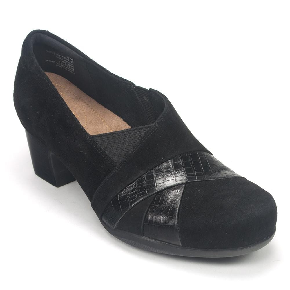 ffc938221bf9 Clarks Women s Rosalyn Adele Leather Low-heel Shoes.  Clarks RosalynAdele Black Main