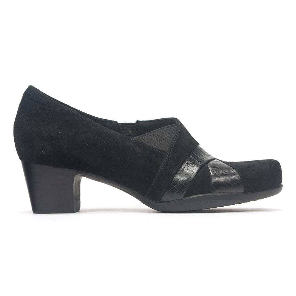 Clarks Women's Rosalyn Adele Leather Low-heel Shoes