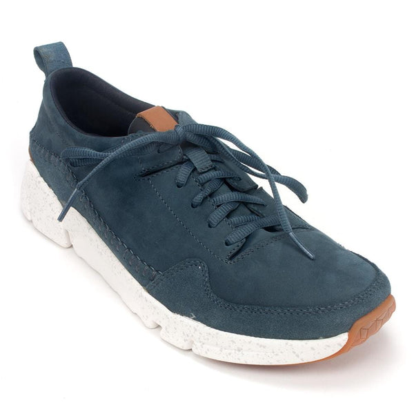 Clarks Sneaker Men S Triactive Run Leather Casual