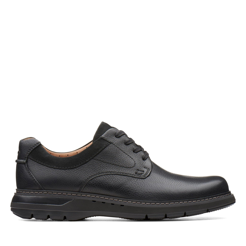 Clarks Un Ramble Lo Men's Leather Laced Dress Loafer | Simons Shoes