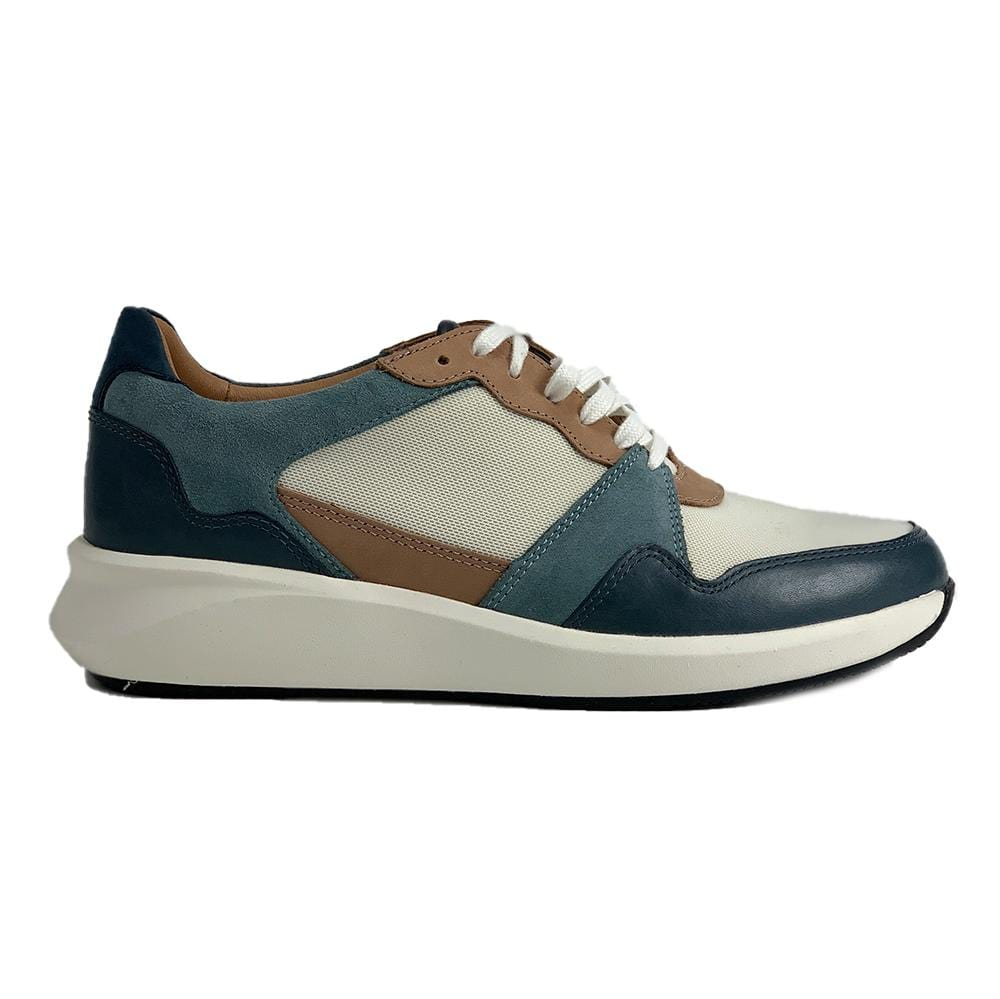 Clarks Leather Un Rio Run Lace Up Sneaker | Simons Shoes