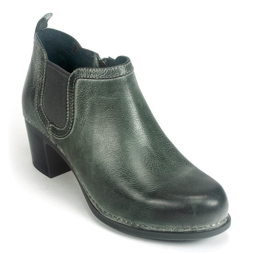Dansko Harlene Women's Leather Chelsea Zip Ankle Bootie | Simons Shoes