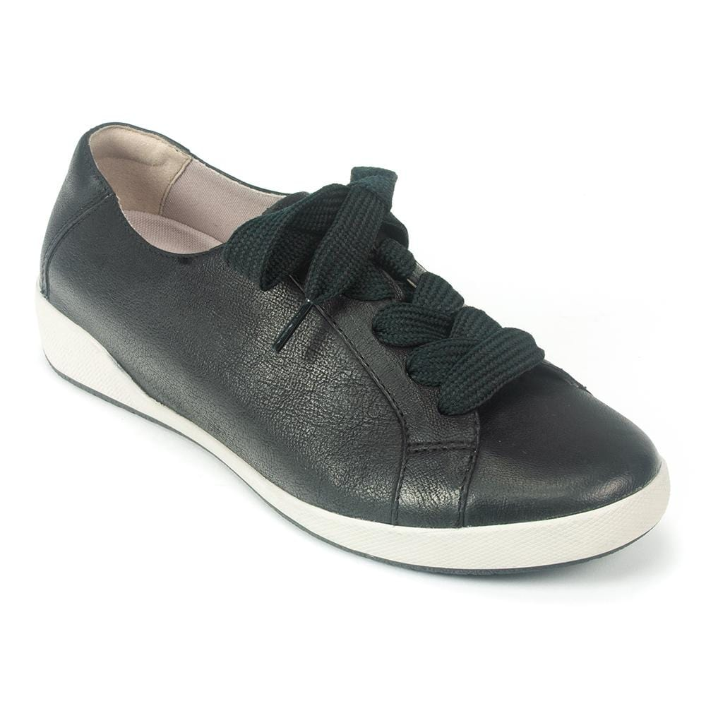 Dansko Orli Women's Leather Lace Up Skater Sneaker | Simons Shoes