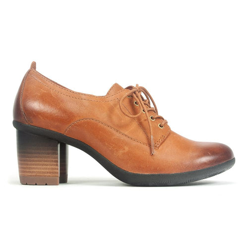 Dansko Pennie | Womens Leather Oxford Comfort Pump Shoe | Simons Shoes