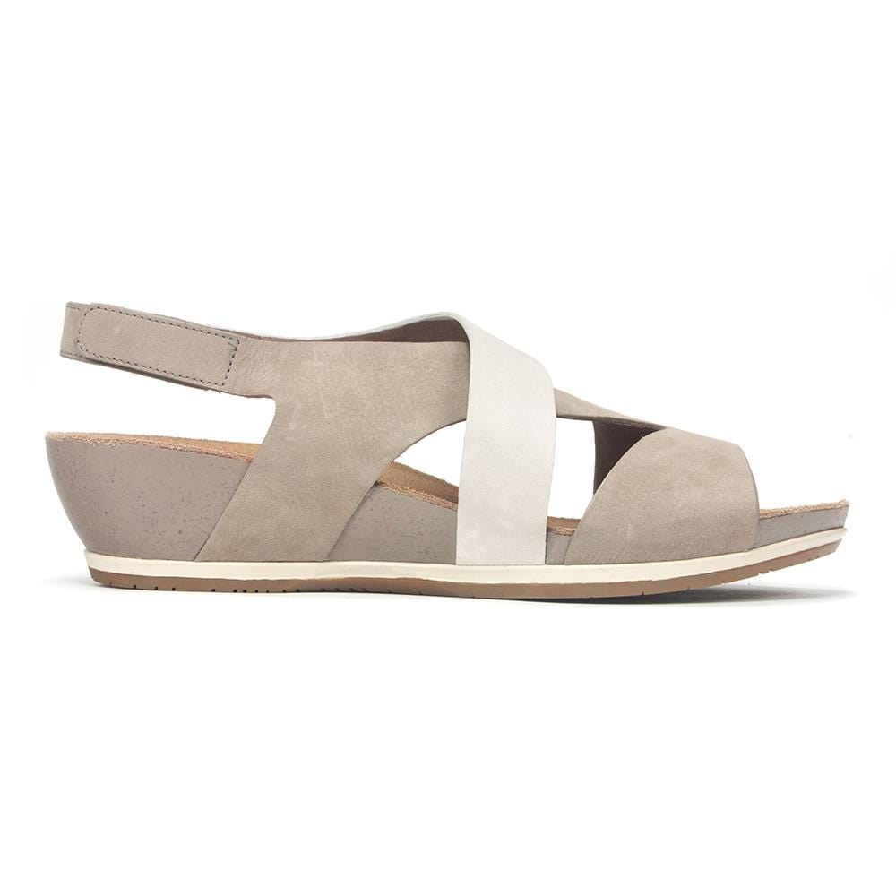 Vicky Crisscross Wedge Sandal