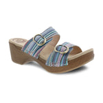 Dansko Sophie | Women's Two Strap Slide Clog Sandal | Simons Shoes