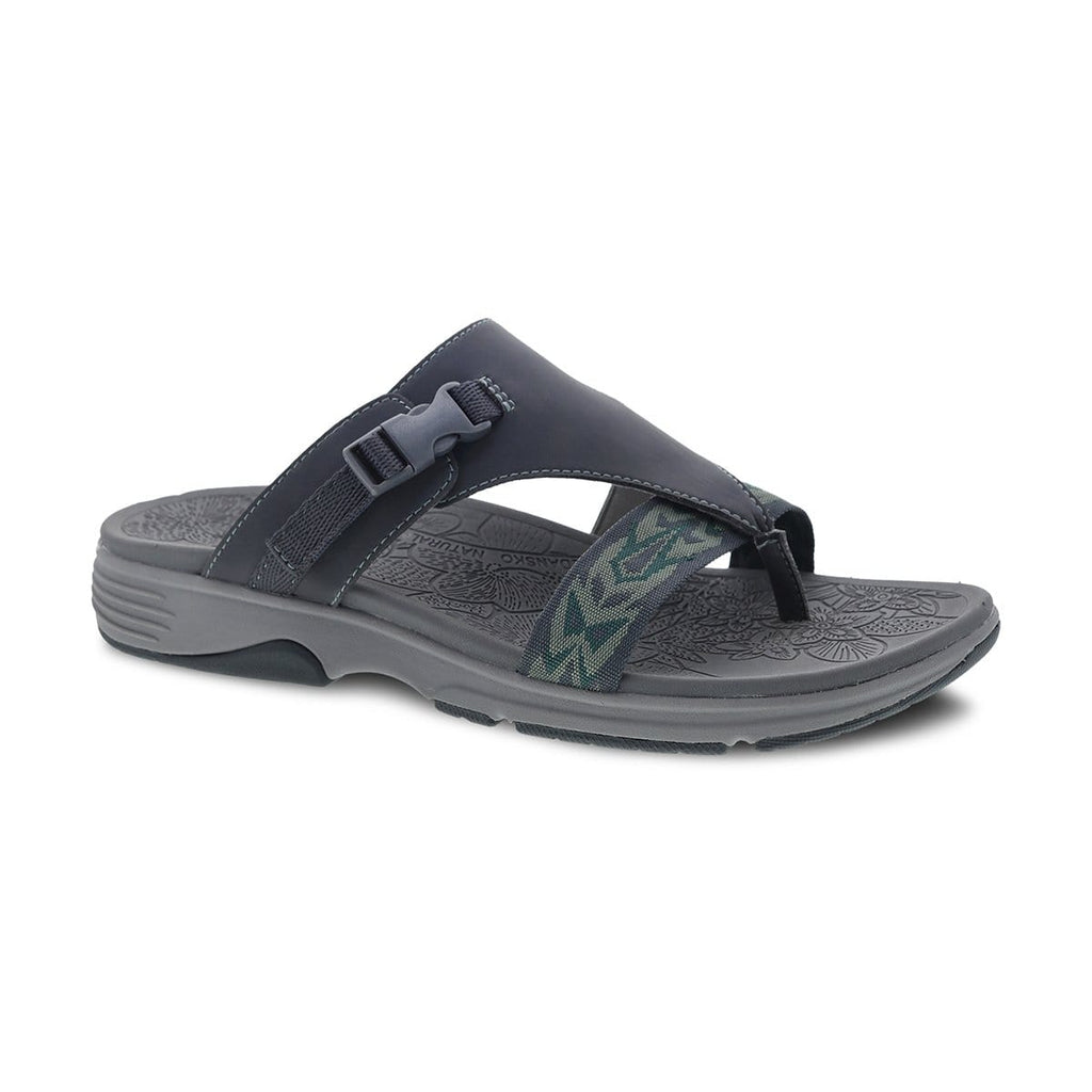 Dansko Alecia Women's Synthetic Adjustable Slide Thong Sandal Shoe