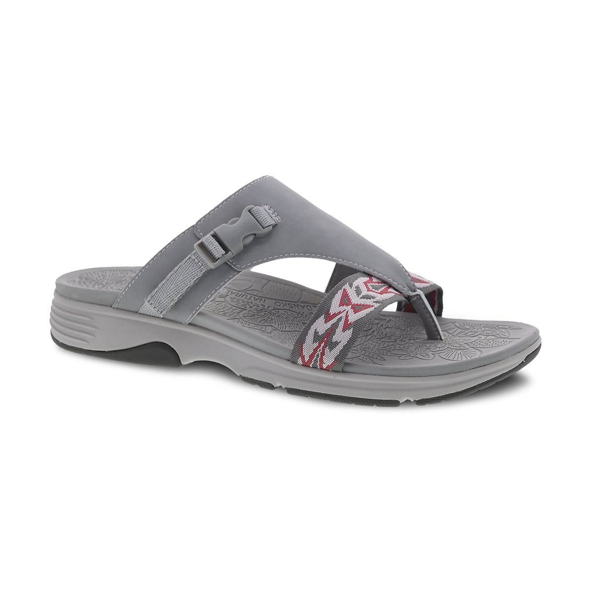 454b72893f6 Dansko Alecia Women s Synthetic Adjustable Slide Thong Sandal Shoe ...
