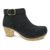 Dansko Autumn Women's Classic Nubuck Bootie Black | Simons Shoes