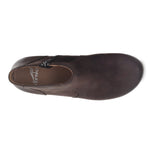 Dansko Barbara Women's Leather Clog Sole Ankle Bootie Chocolate | Simons Shoes