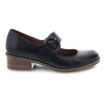 Dansko Brandy Womens Leather Low Heel Comfort Mary Jane Black | Simons Shoes