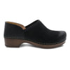 Dansko Brenna Casual Women's Suede Slip On Shoe Black | Simons Shoes