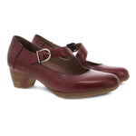 Dansko Dianne Women's Classic Heeled Leather Mary Jane Cabernet | Simons Shoes