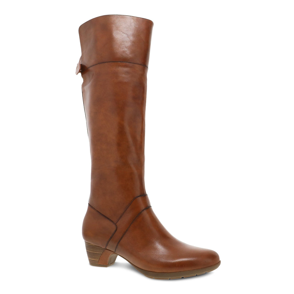 Dansko Dori Women's Tall Aniline Calf Leather Boots | Simons Shoes