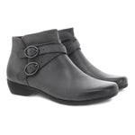 Dansko Faithe Women's Burnished Nubuck Ankle Bootie Grey | Simons Shoes