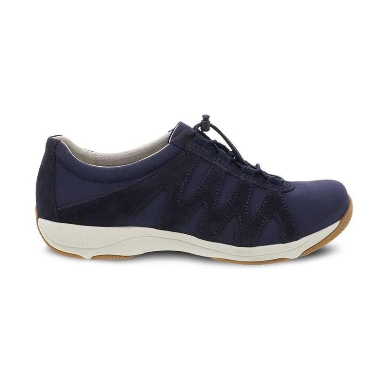 Dansko Harlie Womens Leather Mesh Walking Sneaker | Simons Shoes