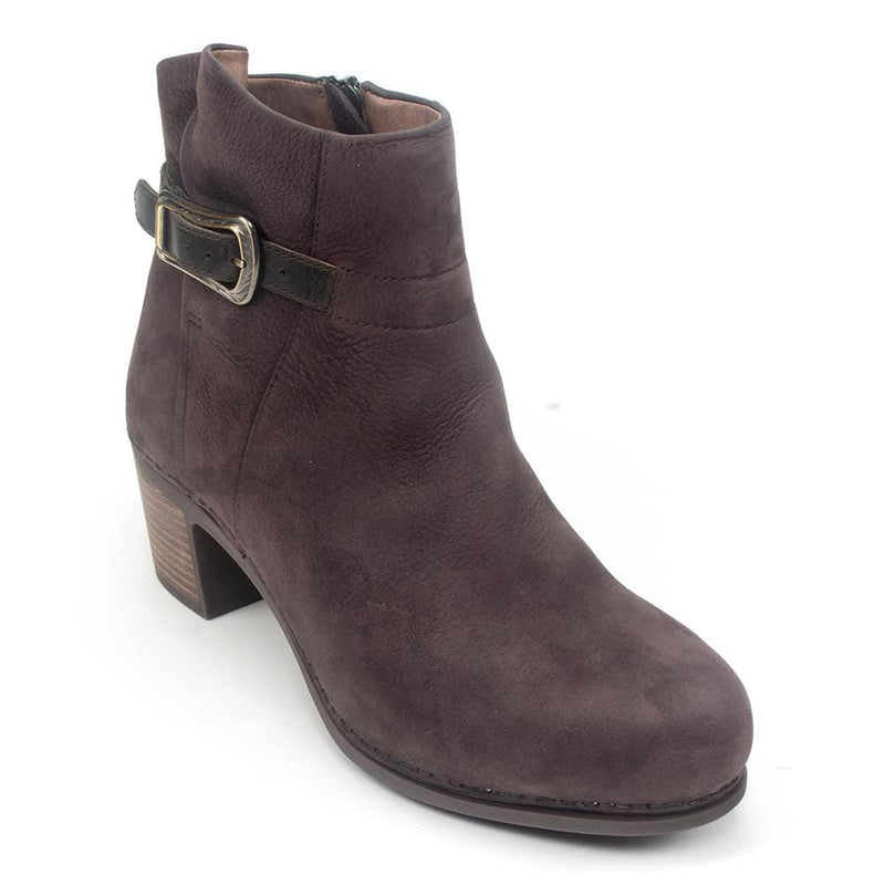 Dansko Hartley | Women's Leather Stain Resist Buckled Bootie | Simons