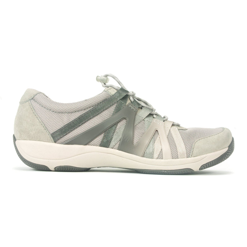 Dansko Henriette Women's Leather Mesh Slip On Sneaker Grey | Simons Shoes