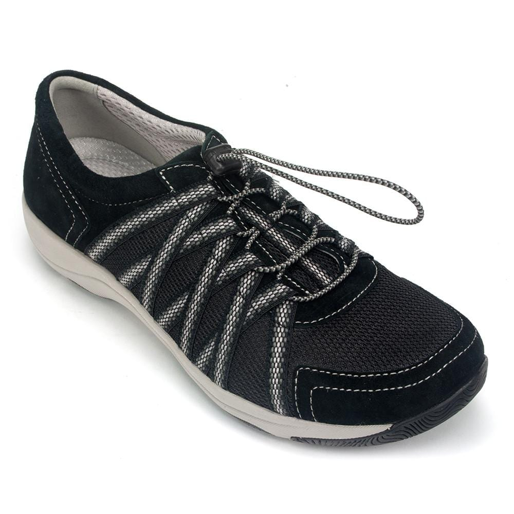 Dansko Honor Women's Leather Mesh Sneaker Shoe