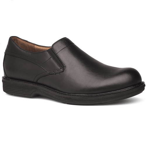 Dansko Men's Jackson 3X-Density Footbed Slip-On Antiqued Leather Shoe