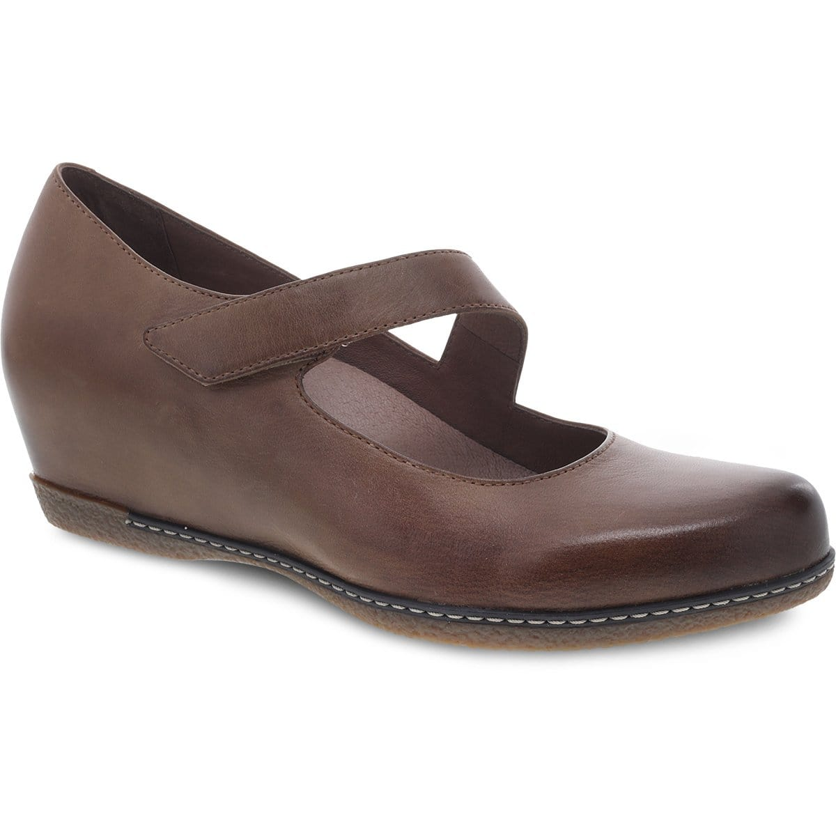 Dansko Women's Lanie Mary Jane Leather Comfort Wedge | Simons Shoes