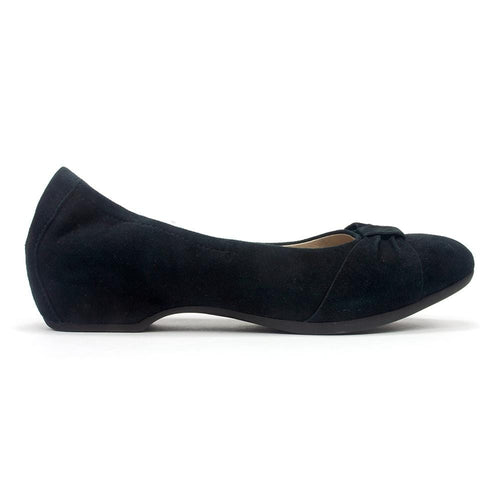 Dansko Lina | Women's Leather Hidden Wedge Bow Wrapped Ballet Flat