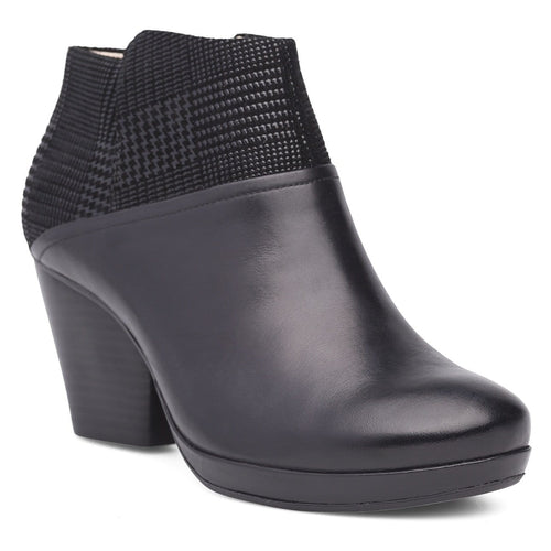 Dansko Miley | Women's Leather Zip Up Platform Ankle Bootie | Simons