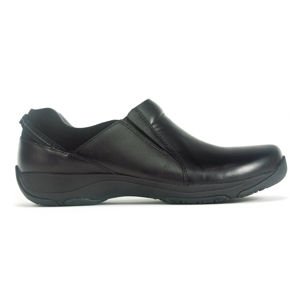 Dansko Neci Women's Simple Classic Leather Slip-On Black | Simons Shoes