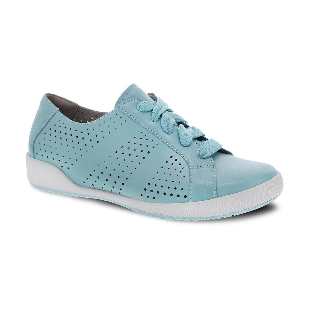 Dansko Orli Women's Perforated Leather Lace Up Skater Sneaker Shoe