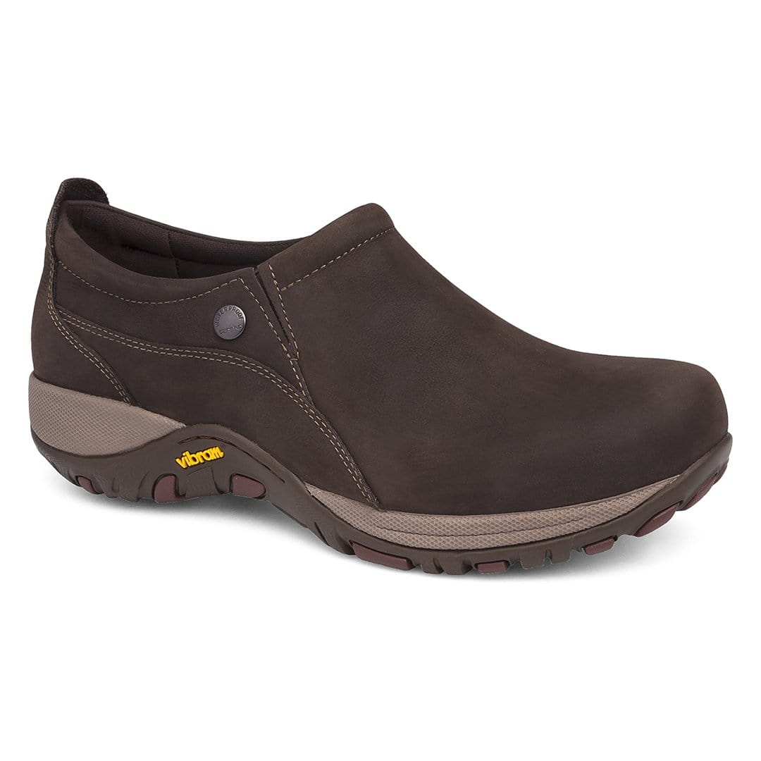 Dansko Women's Patti Suede Vibram Sole Slip On Shoe