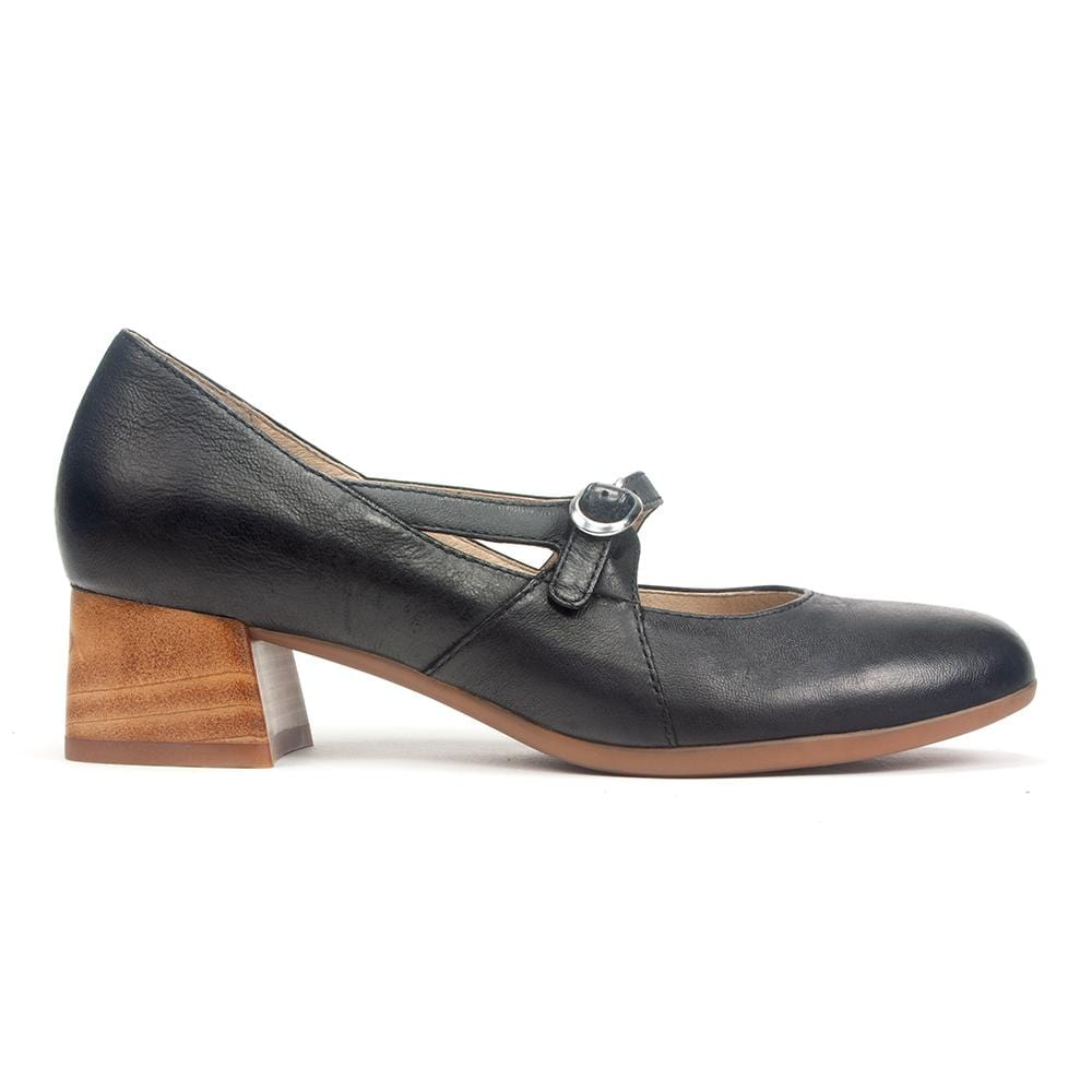 Dansko Peyton | Women's Leather Tapered Heel Mary Jane | Simons Shoes