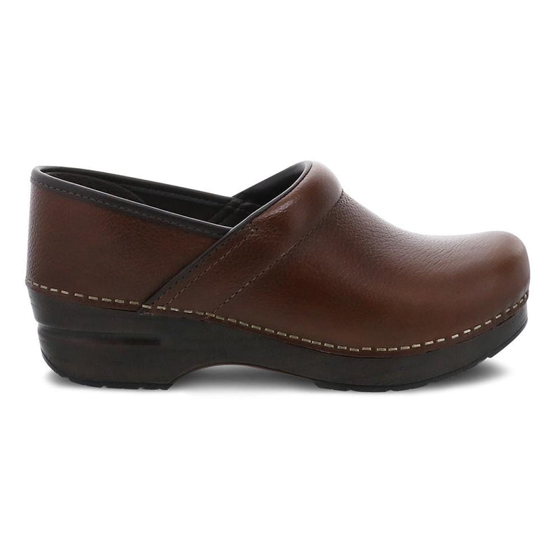 Dansko Professional Tan Tumbled Women's Leather Clog | Simons Shoes