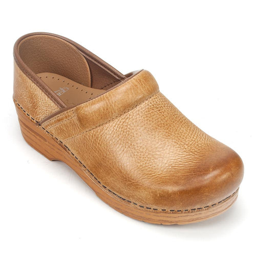 Dansko Women's Professional Distressed Leather Clog Shoe