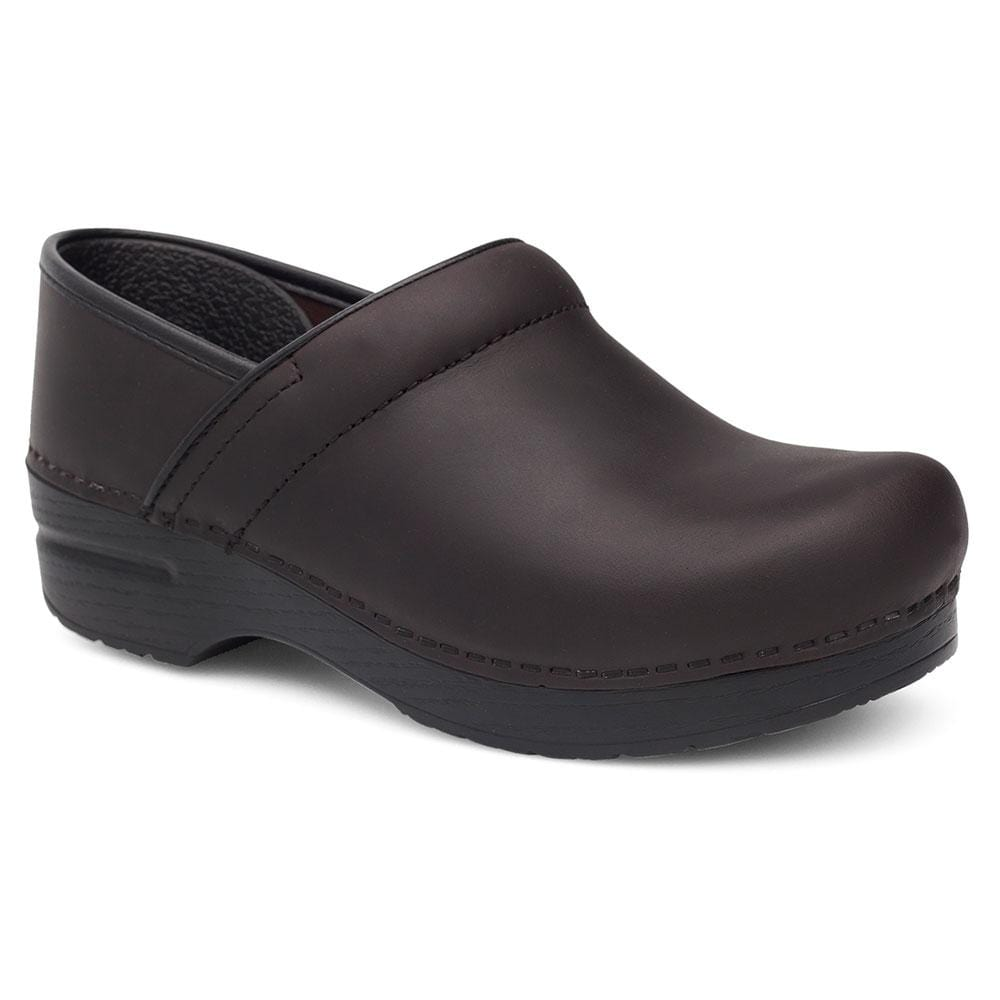 Dansko Professional Women's Leather Anti Fatigue Clog | Simons Shoes