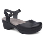 Dansko Sam Women's Leather Comfortable Mary Jane Clog Sandal Shoe