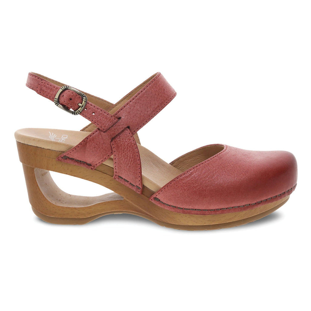 Dansko Taci Women's Contemporary Leather Mary Jane Clog | Simons Shoes