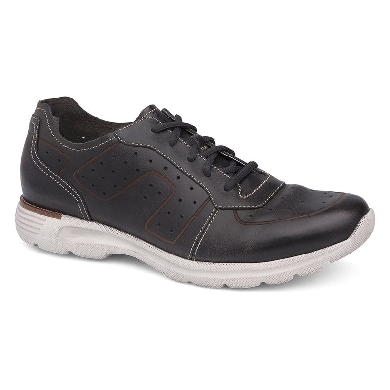 Wesley Leather Stitched Lace Up Sneaker
