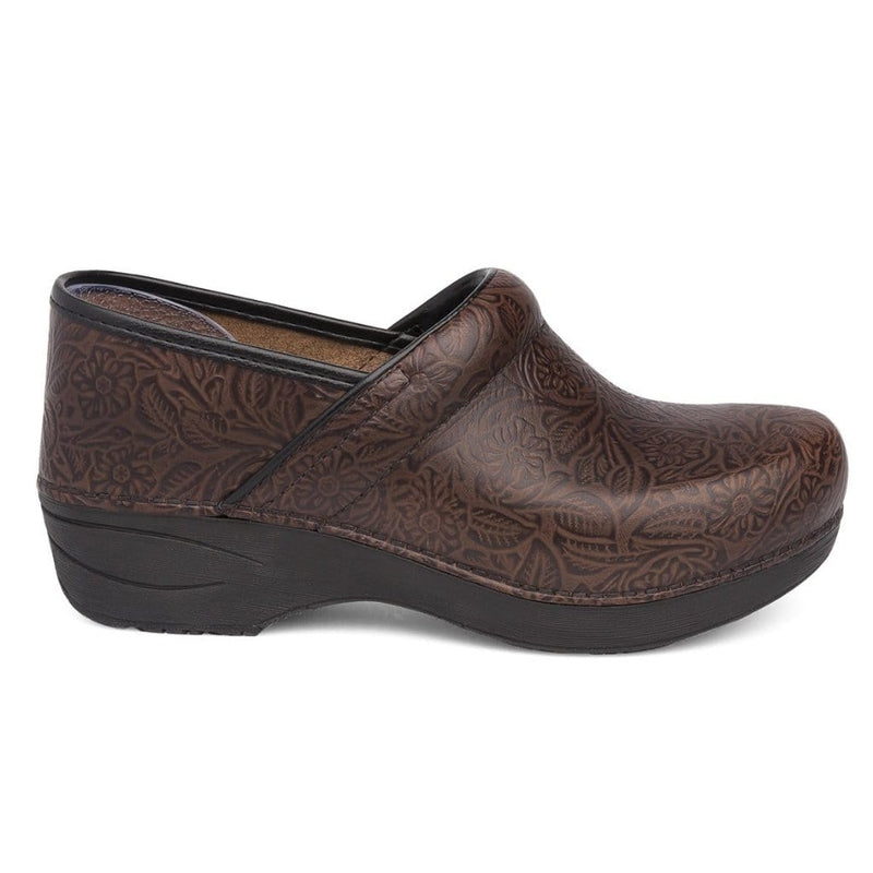 Dansko XP 2.0 Women's Floral Leather Anti Stress Supportive Clog Shoe