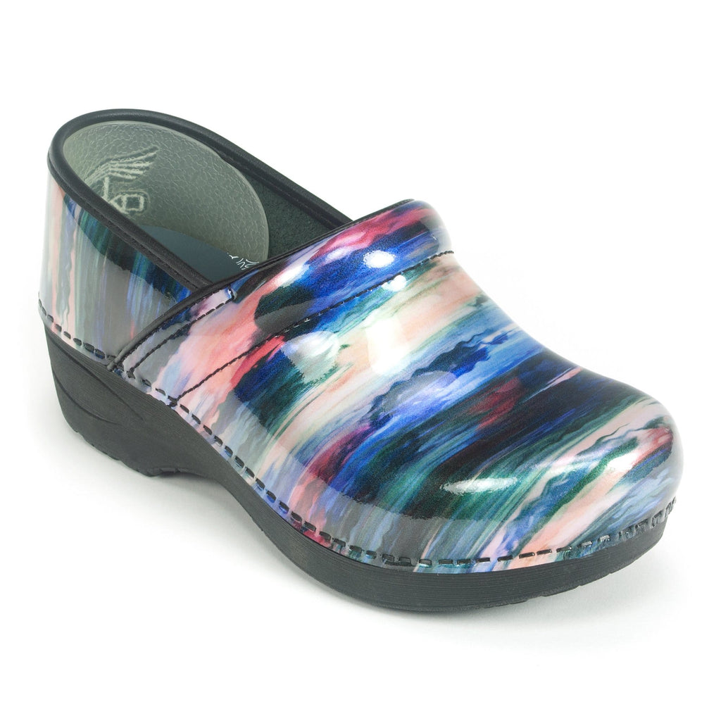 Dansko XP 2.0 Paint Stroke Women's Patent Leather Clog | Simons Shoes